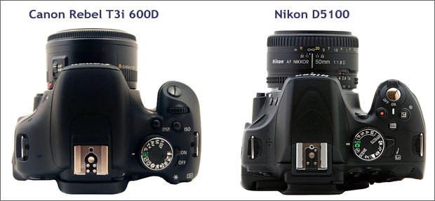 canon t3i 600d with nikon d5100