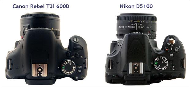 canon t3i 600d with nikon d5100