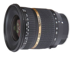 Tamron 10-24mm f/3.5-4.5 SP Di II LD lens