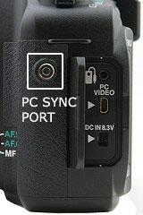 PC Sync Port