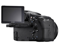 sony slt-a77 flexible lcd