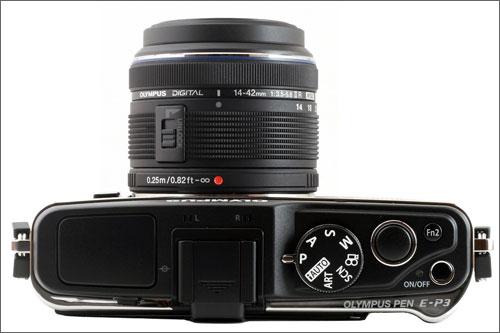 mirrorless system camera
