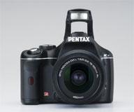 pentax k-x black