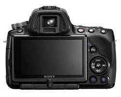 sony slt-a55 back