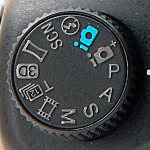 Sony DSLR Mode Dial