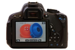 Canon 650D T4i - LCD Display