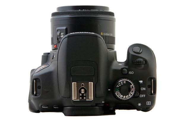 Canon 650D T4i - Top of Camera