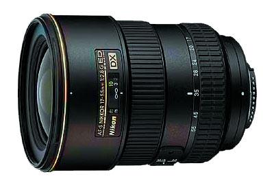 Nikon 17-55mm f/2.8 ED AF-S Nikkor Zoom Lens