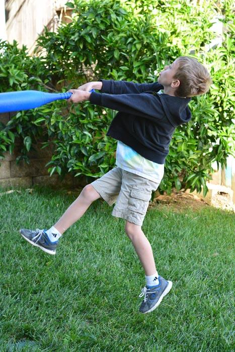 Nikon D7100 Action - Boy With Bat