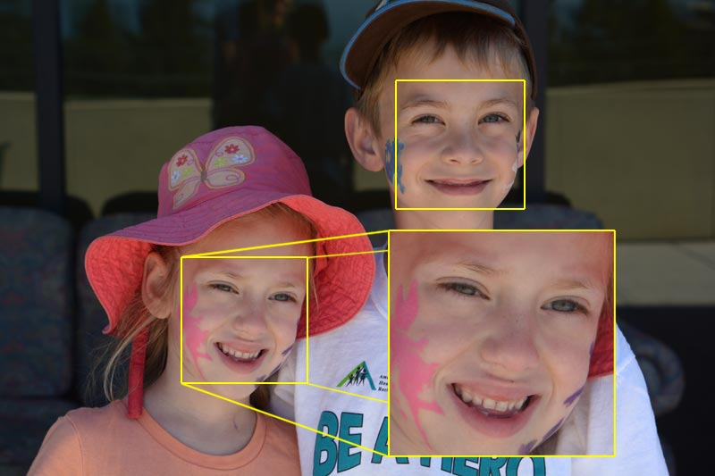 Nikon D7100 - Face Zoom in Playback