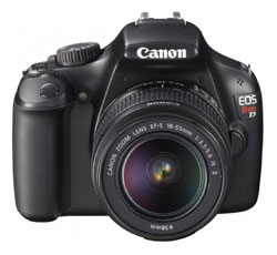 See Canon Rebel T3 1100D Features