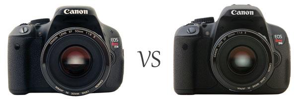 Canon 600D T3i vs 650D T4i
