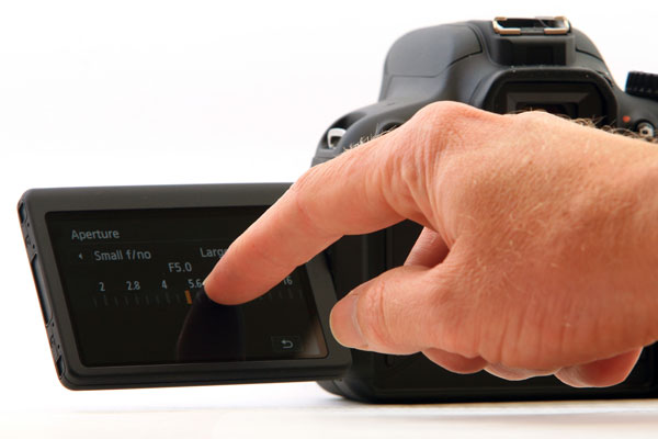Canon 650D T4i Touch Screen LCD