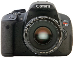 See Canon Rebel T4i 650D Review