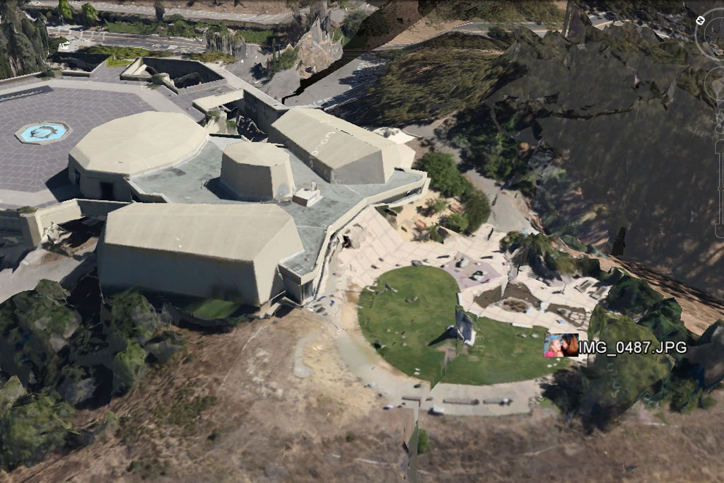 Canon 6D GPS Photo in Google Earth