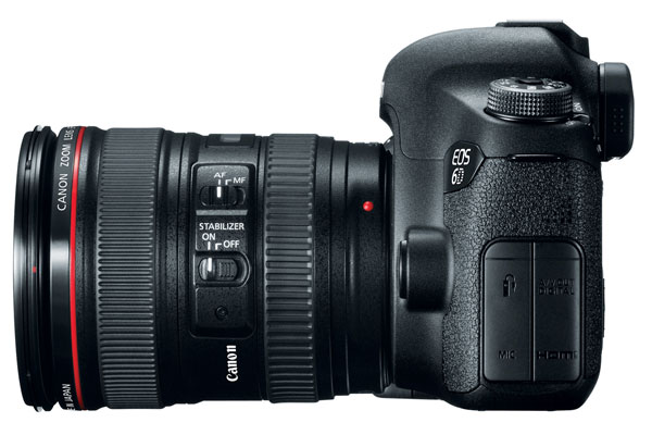 Canon 6D With Image Stabilized Lens