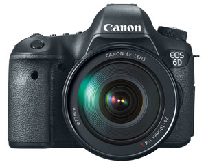 See Canon 6D Features