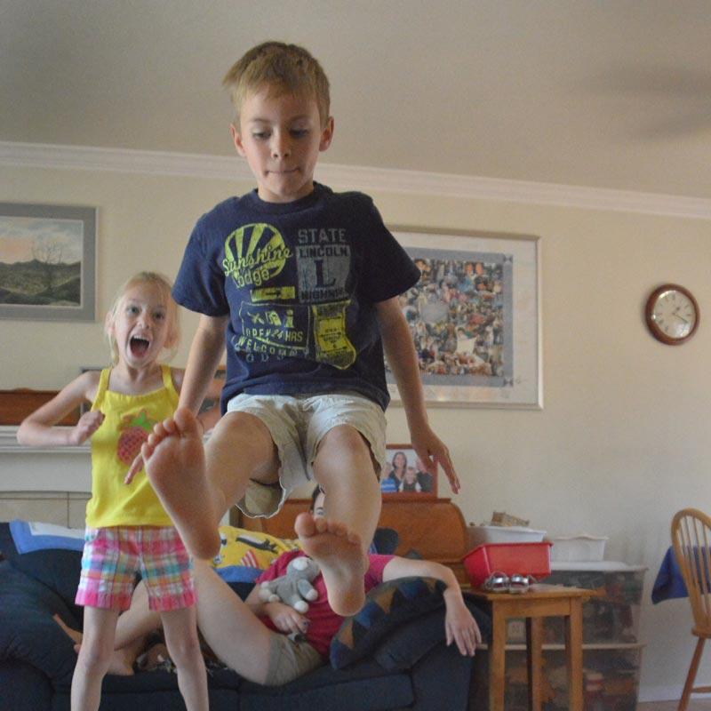 Nikon D7100 - Jumping Boy
