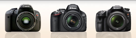 Digital SLR Cameras