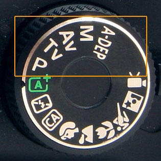 DSLR Mode Dial Manual Settings