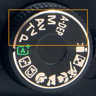 DSLR Mode Dial Manual Settings