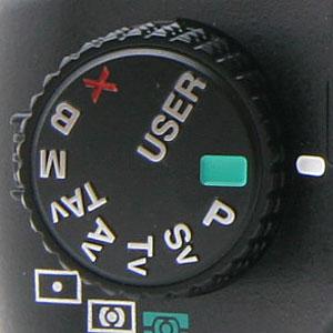 Pentax DSLR Mode Dial