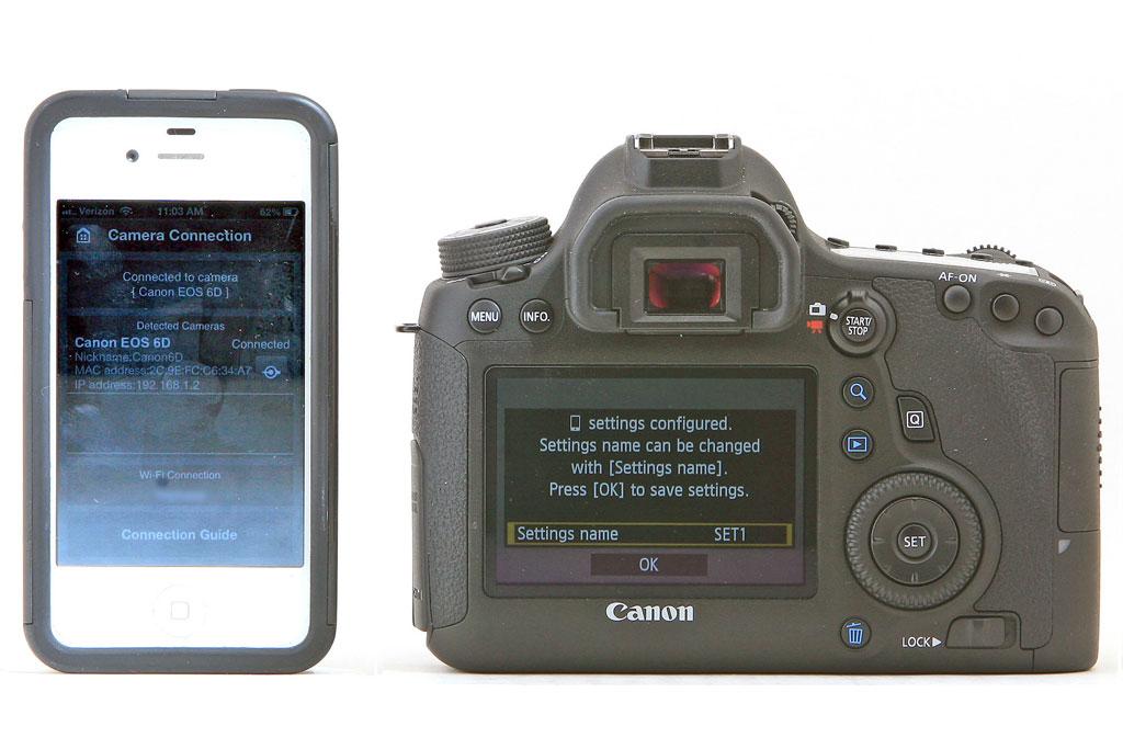 Canon EOS 6D Wireless