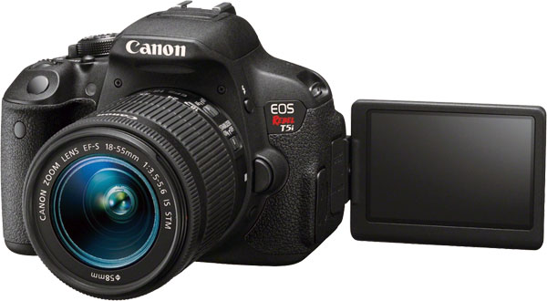 Canon 700D T5i With Flexible LCD