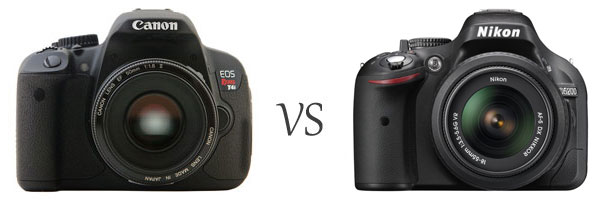Canon vs. Nikon DSLR Cameras