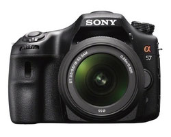See Sony SLT-A57 Review