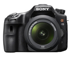 See Sony SLT-A65 Features